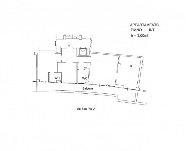 Appartamento in vendita a Roma, Gregorio Vii, 106 mq - Foto 3