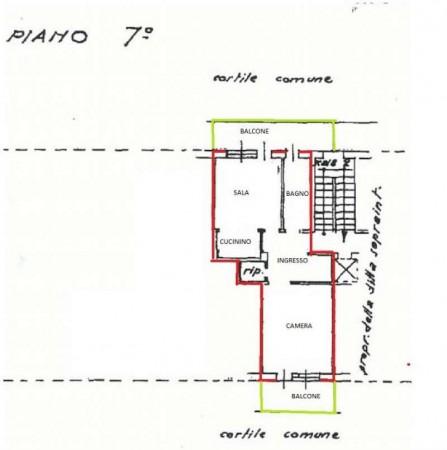 Appartamento in vendita a Alpignano, Centro, Con giardino, 69 mq - Foto 9