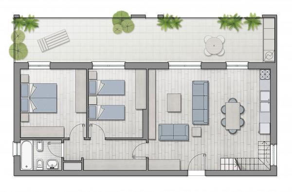 Appartamento in vendita a Roma, Furio Camillo, Appio Latino, Alberone, 40 mq - Foto 5