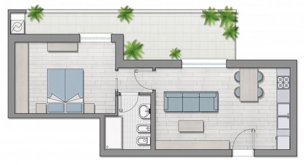 Appartamento in vendita a Roma, Furio Camillo, Appio Latino, Alberone, 37 mq - Foto 8