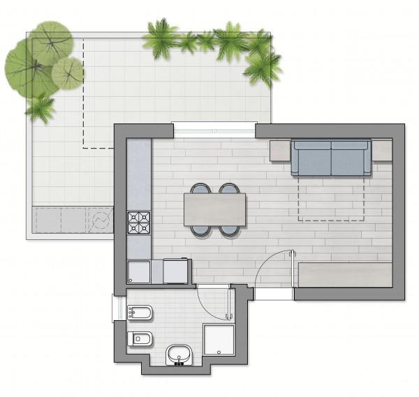 Appartamento in vendita a Roma, Furio Camillo, Appio Latino, Alberone, 37 mq - Foto 6