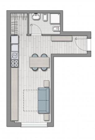 Appartamento in vendita a Roma, Furio Camillo, Appio Latino, Alberone, 37 mq - Foto 11