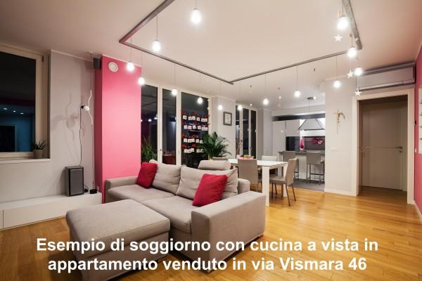 Trilocale in vendita a Agrate Brianza, Via Vismara, 77 mq - Foto 8