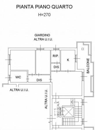 Appartamento in vendita a Cesano Boscone, 80 mq - Foto 2
