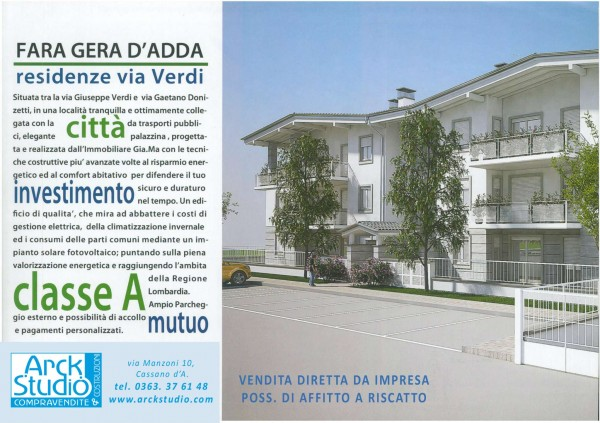 Appartamento in vendita a Fara Gera d'Adda, 83 mq - Foto 9