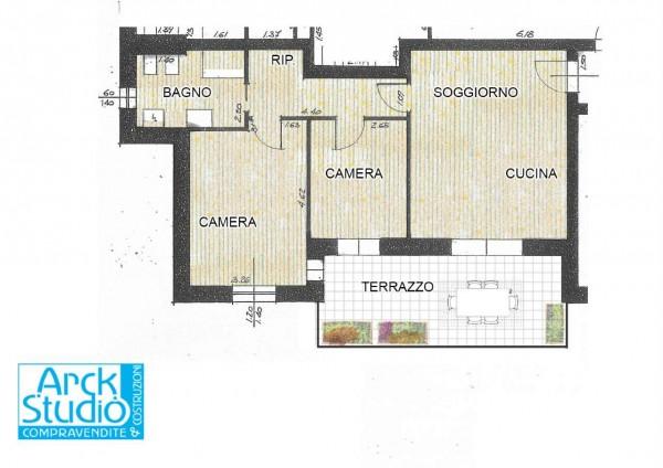 Appartamento in vendita a Fara Gera d'Adda, 83 mq - Foto 11