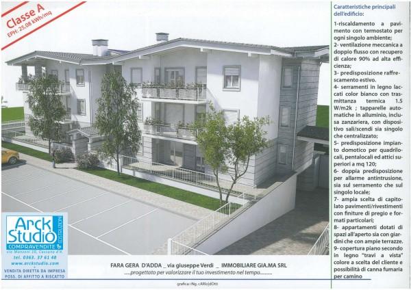 Appartamento in vendita a Fara Gera d'Adda, 83 mq - Foto 8