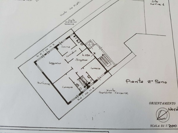 Appartamento in vendita a Varese, Masnago, Con giardino, 160 mq - Foto 37
