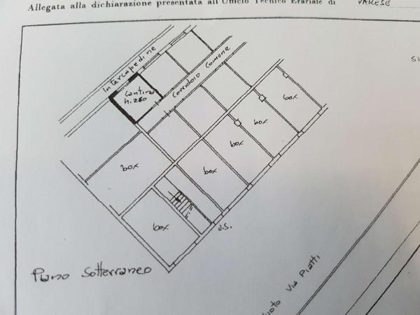 Appartamento in vendita a Varese, Masnago, Con giardino, 160 mq - Foto 33
