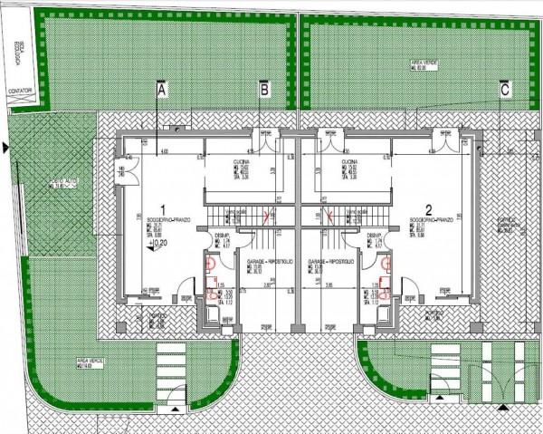 Appartamento in vendita a Albignasego, Sant'agostino, Con giardino, 160 mq - Foto 2