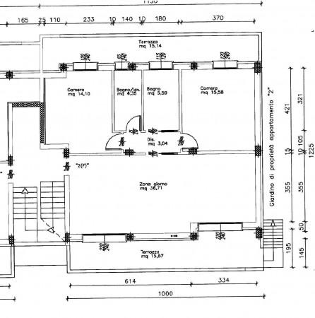 Appartamento in vendita a Padova, Con giardino, 85 mq - Foto 3