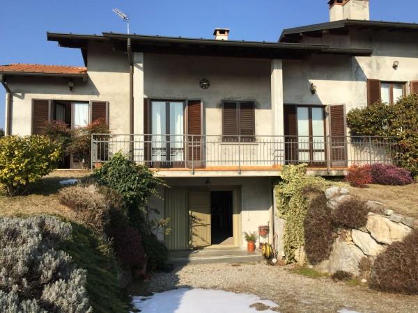 Villa in vendita a Besozzo, Alta, Arredato, con giardino, 230 mq - Foto 4