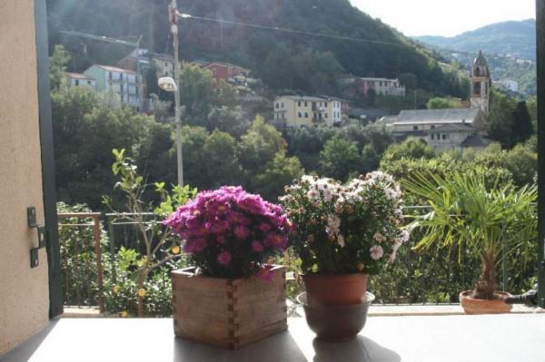 Villetta a schiera in vendita a Avegno, Con giardino, 210 mq - Foto 2