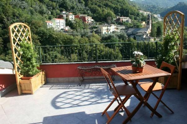 Villetta a schiera in vendita a Avegno, Con giardino, 210 mq - Foto 7