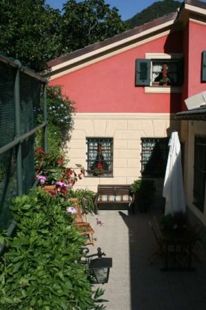 Villetta a schiera in vendita a Avegno, Con giardino, 210 mq - Foto 35