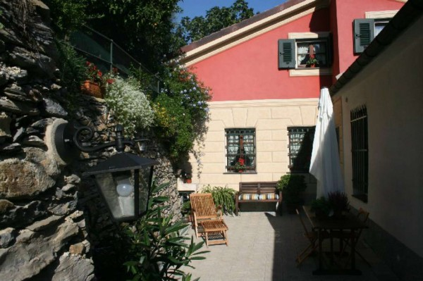 Villetta a schiera in vendita a Avegno, Con giardino, 210 mq - Foto 33