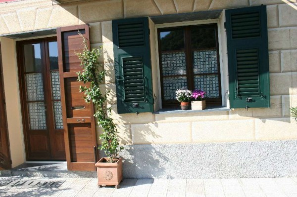 Villetta a schiera in vendita a Avegno, Con giardino, 210 mq - Foto 31