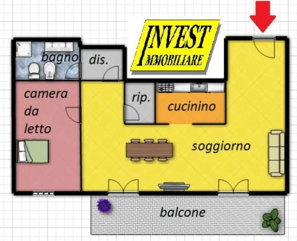 Appartamento in vendita a Torino, P.za Statuto/via Cibrario, Arredato, 85 mq