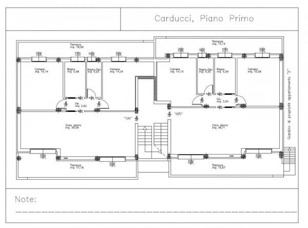 Appartamento in vendita a Padova, Voltabarozzo, Con giardino, 100 mq - Foto 3