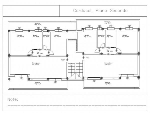 Appartamento in vendita a Padova, Voltabarozzo, Con giardino, 100 mq - Foto 2