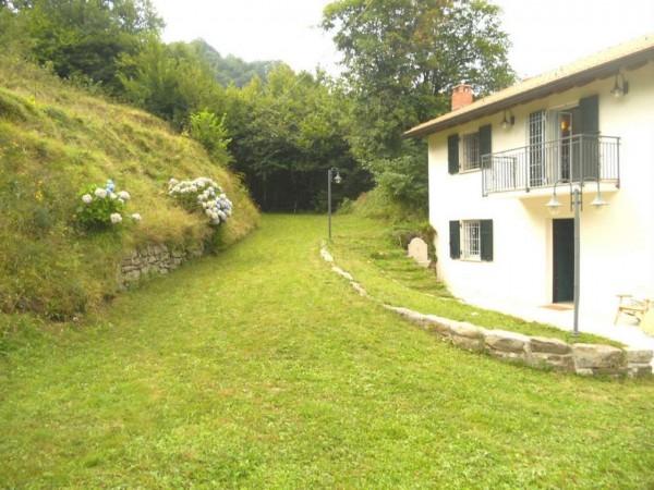 Villa in vendita a Borzonasca, Acero, Arredato, con giardino, 170 mq - Foto 18