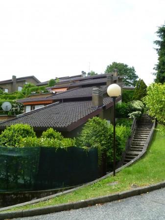 Villetta a schiera in vendita a Bregano, Residence Plan, Arredato, con giardino, 171 mq - Foto 16