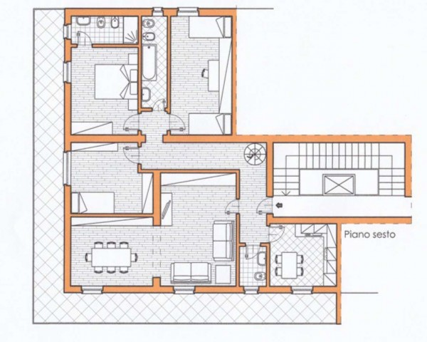Appartamento in vendita a Rapallo, Centro Città, 150 mq - Foto 3