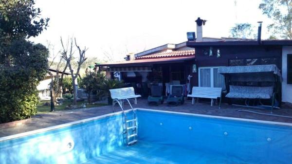 Villa in vendita a Roma, Malagrotta, Con giardino, 200 mq