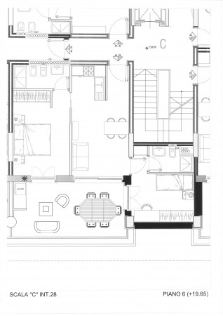 Trilocale in affitto a Roma, Casal Bertone/tiburtina, 65 mq
