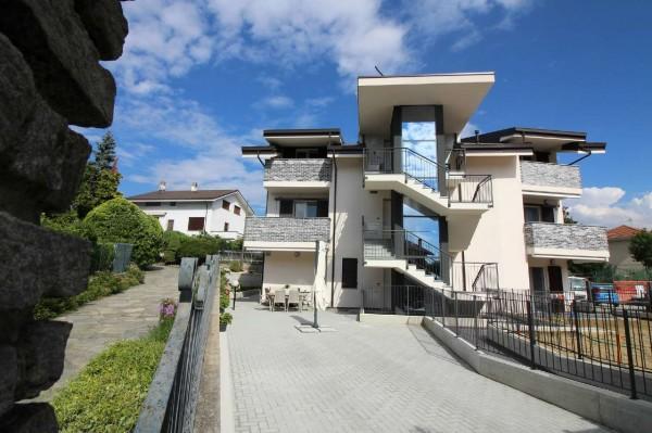 Appartamento in vendita a Alpignano, Centro/verde, Con giardino, 92 mq
