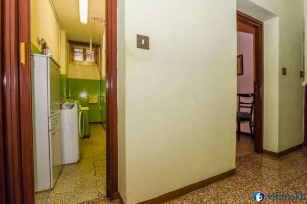 Appartamento in vendita a Milano, M5 San Siro Stadio, Con giardino, 100 mq - Foto 24