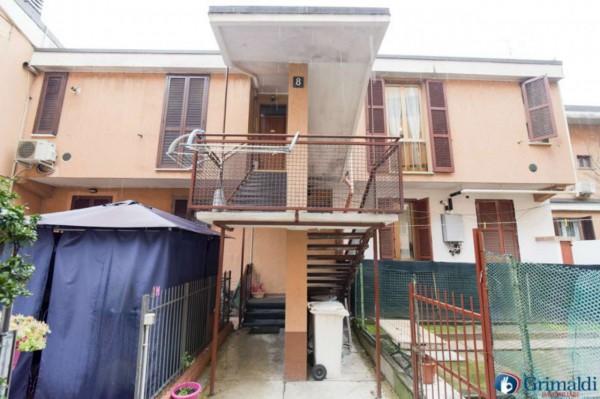 Appartamento in vendita a Milano, M5 San Siro Stadio, Con giardino, 100 mq - Foto 12