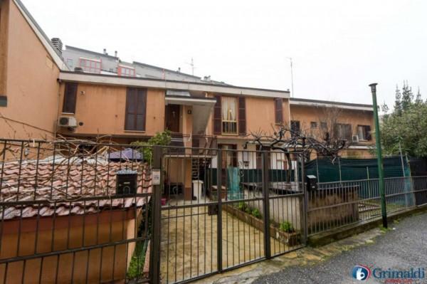Appartamento in vendita a Milano, M5 San Siro Stadio, Con giardino, 100 mq - Foto 15
