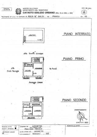 Casa indipendente in vendita a Rocca de' Baldi, Centro, Con giardino, 140 mq - Foto 8