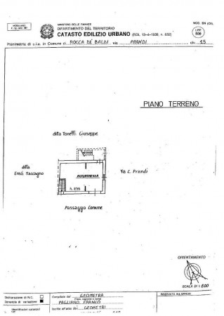 Casa indipendente in vendita a Rocca de' Baldi, Centro, Con giardino, 140 mq - Foto 9