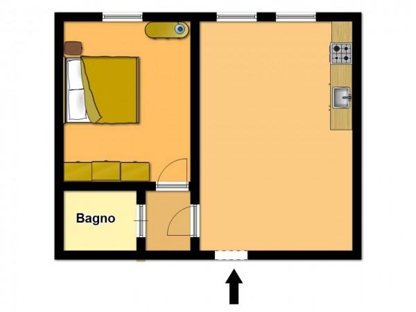 Appartamento in vendita a Brescia, Arredato, 50 mq - Foto 2