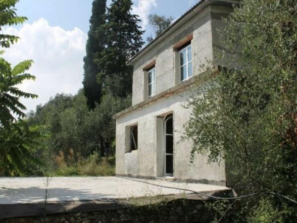 Casa indipendente in vendita a Zoagli, S.ambrogio, Con giardino, 88 mq