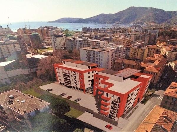 Appartamento in vendita a La Spezia, Migliarina, Con giardino, 95 mq