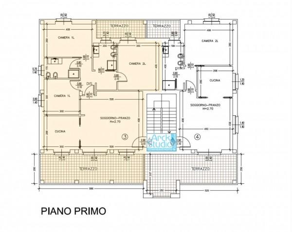 Appartamento in vendita a Cassano d'Adda, Con giardino, 145 mq - Foto 8