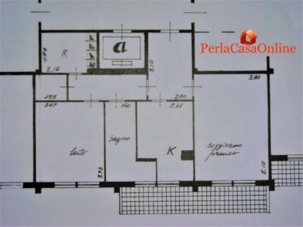 Appartamento in vendita a Forlì, Nuovo Polo Universitario, Arredato, 80 mq - Foto 2