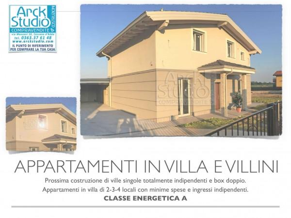Appartamento in vendita a Cassano d'Adda, Con giardino, 85 mq