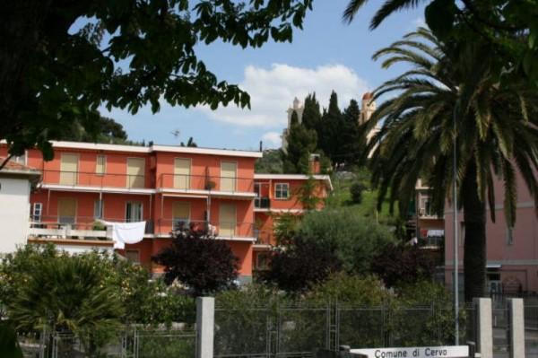 Appartamento in vendita a Cervo, 1° Cintura, Con giardino, 96 mq