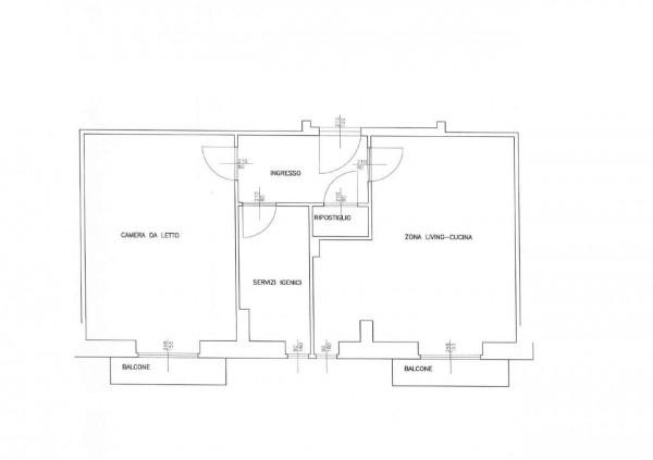 Appartamento in vendita a Alpignano, Centro, 64 mq - Foto 3