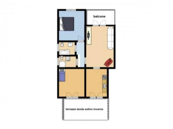 Appartamento in vendita a Torino, Con giardino, 115 mq - Foto 2
