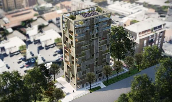 Appartamento in vendita a Milano, Dergano, Con giardino, 61 mq - Foto 22