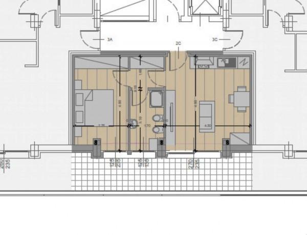 Appartamento in vendita a Milano, Dergano, Con giardino, 61 mq - Foto 24