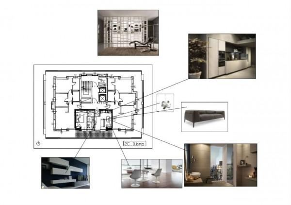 Appartamento in vendita a Milano, Dergano, Con giardino, 61 mq - Foto 2