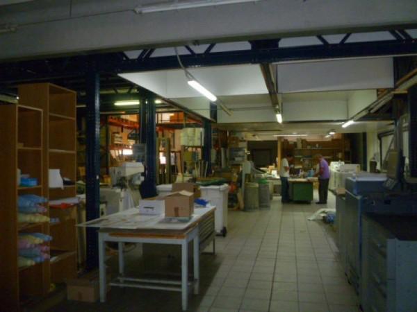 Capannone in vendita a Gallarate, Sciarè, Con giardino, 1035 mq - Foto 91