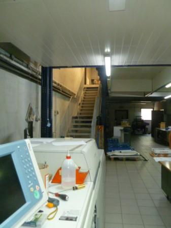 Capannone in vendita a Gallarate, Sciarè, Con giardino, 1035 mq - Foto 47