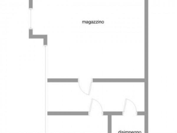 Capannone in vendita a Gallarate, Sciarè, Con giardino, 1035 mq - Foto 3
